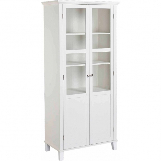 Fascinating Homestar 2 Door Storage Cabinet Walmart White Storage Cabinets With Doors