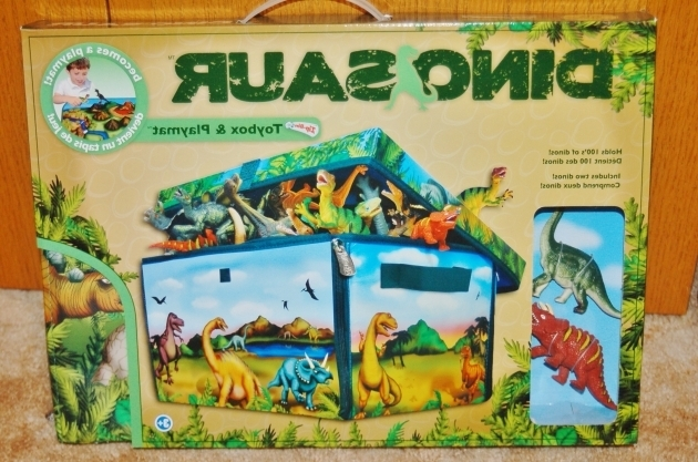 Fascinating Neat Oh Zipbin Dinosaur Collector Toy Box Playset Review Dinosaur Storage Bin