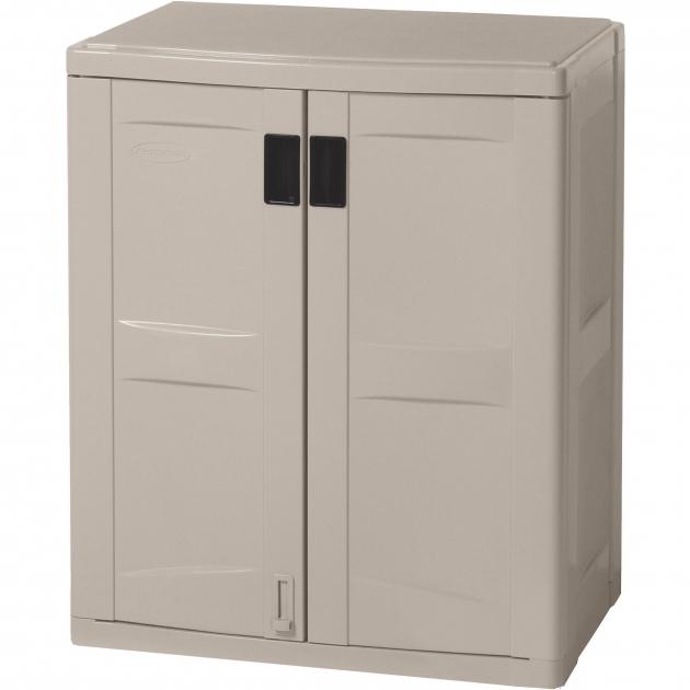 Fascinating Suncast Garage Base Cabinet Taupe Walmart Suncast Base Storage Cabinet