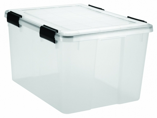 Fascinating Weather Tight Storage Box Set 6 Clear Plastic Container Seal Foam Weather Tight Storage Containers