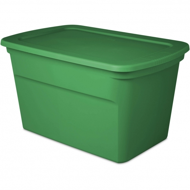 Gorgeous Sterilite 30 Gallon Tote Box Elf Green Available In Case Of 6 Or 30 Gallon Storage Bins