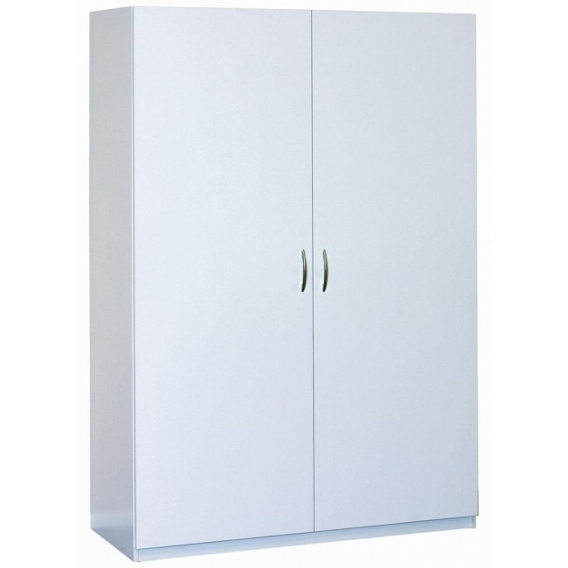 Image of Free Standing Cabinets Garage Cabinets Storage Systems The White Storage Cabinets With Doors