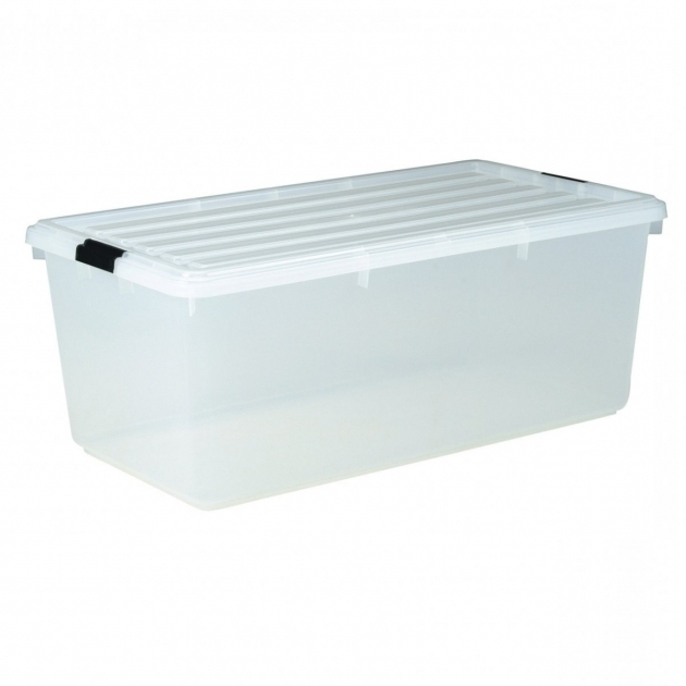 Image of Great Plastic Storage Bins With Lids With Iris Clear Plastic Tote Iris Storage Containers