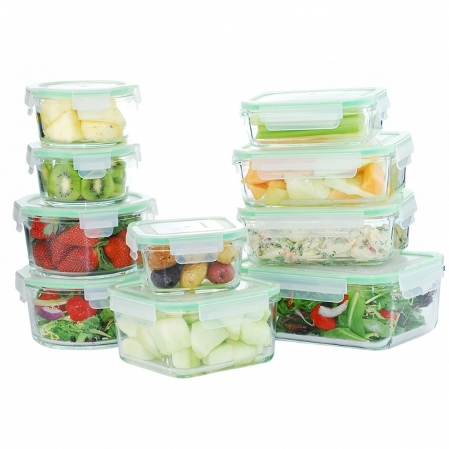 Inspiring Kinetic Glassworks Oven Safe 11 Container Food Storage Set Glass Food Storage Containers With Lids
