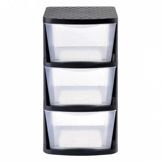 Inspiring Muscle Rack 3 Drawer Clear Plastic Storage Tower With Black Frame Plastic Storage Bins With Drawers