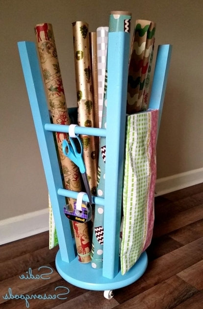 Marvelous 25 Best Ideas About Wrapping Paper Storage On Pinterest Gift Gift Wrap Storage Container