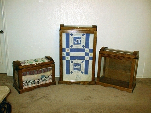 Marvelous Quilt Display Cabinet Edgarpoe Quilt Storage Cabinets
