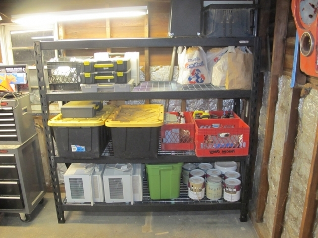 Marvelous Review Whalen Industrial Rack Shelves From Costco The Costco Storage Containers