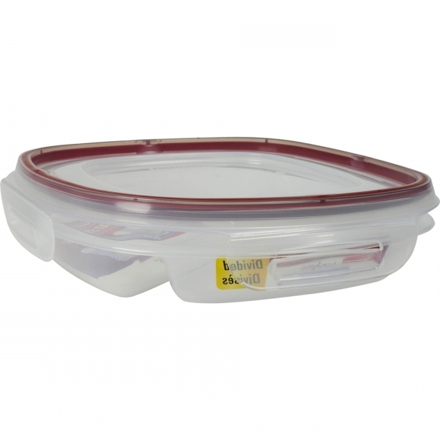 Marvelous Rubbermaid 53 Cup Square Divided Food Storage Container Divided Food Storage Containers