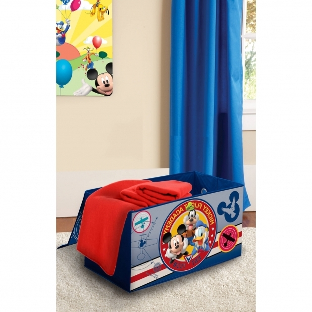 Outstanding Disney Mickey Mouse Room In A Box With Bonus Toy Bin Walmart Mickey Mouse Storage Bins
