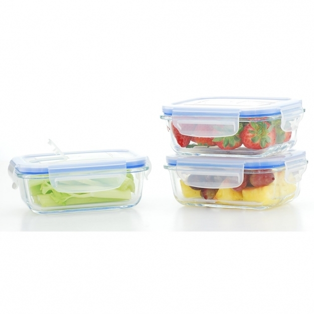 Outstanding Kinetic Go Green Glasslock Elements Oven Safe Rectangular 12 Oz Glass Food Storage Containers With Lids