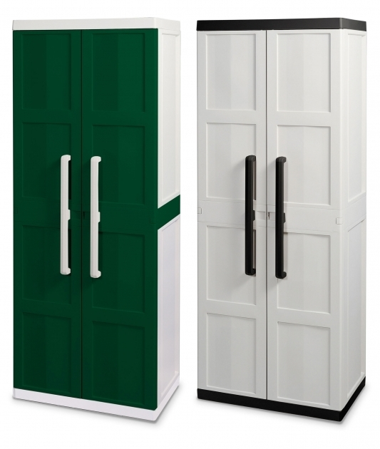 Outstanding Plastic Garage Storage Cabinets Creative Cabinets Decoration Plastic Garage Storage Cabinets