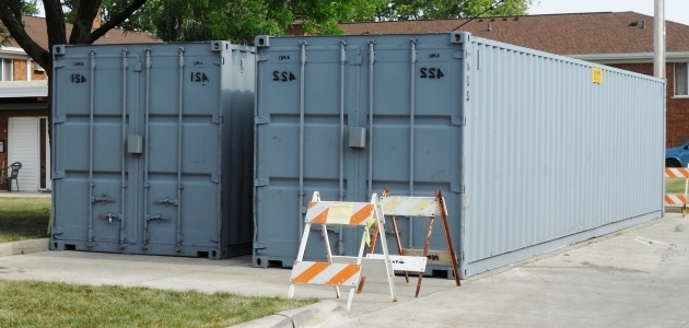 ... Outstanding Storage Containers Steel Conex Boxes Cargo Cans Pods Rent A  Pod Storage Container ...