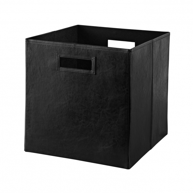 Picture of Closetmaid Decorative Storage Leather Bin Reviews Wayfair Closetmaid Storage Bins