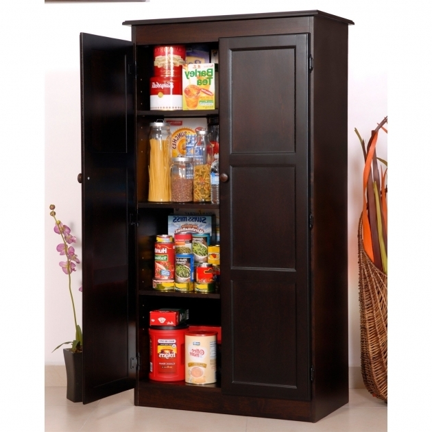 Picture of Sauder Homeplus Swing Out Storage Cabinet Pantry Cabinets At Food Storage Cabinet With Doors