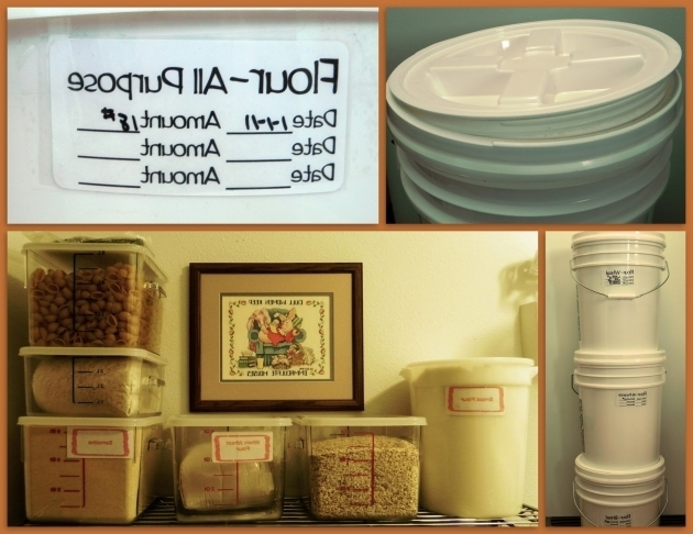 Picture of The Iowa Housewife Bulk Food Storage Bulk Food Storage Containers