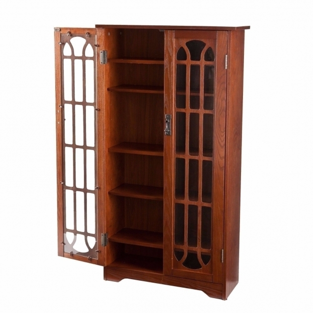 Remarkable Cd Media Storage Cabinet With Glass Doors Creative Cabinets Blu Ray Storage Cabinet