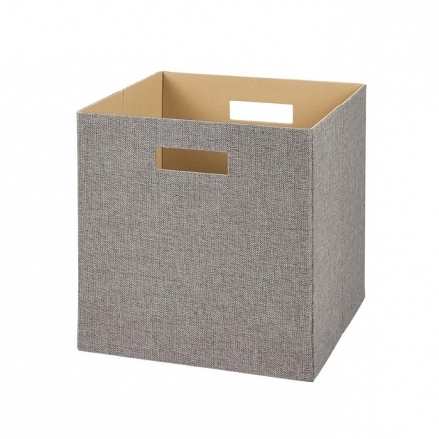 Remarkable Closetmaid 13 In H X 13 In W X 13 In D Decorative Fabric Closetmaid Storage Bins