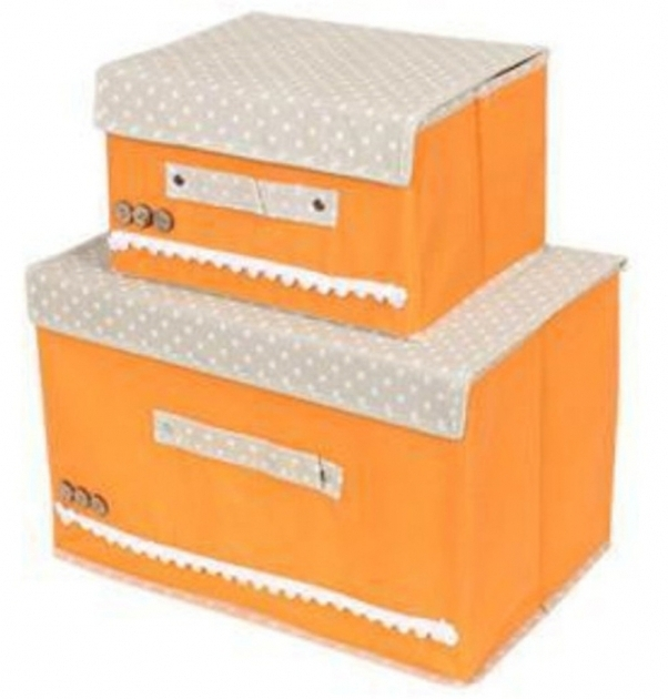 Remarkable Fabric Storage Bo With Lids All About Kitchen Decor Inspiration Fabric Storage Bins With Lids