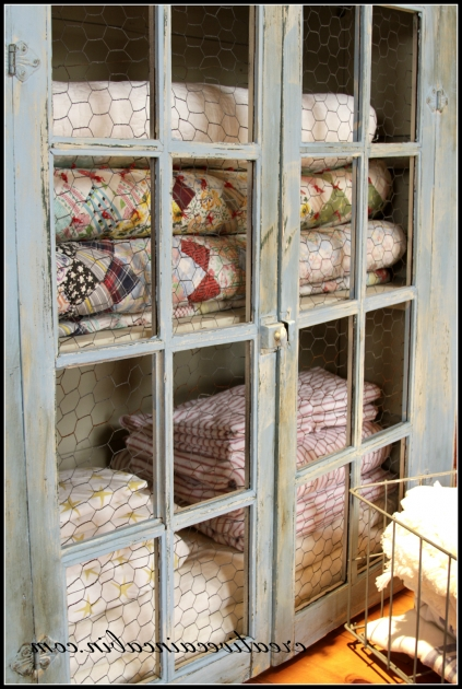 Remarkable Quilt Cabinet Makeover Creative Cain Cabin Quilt Storage Cabinets