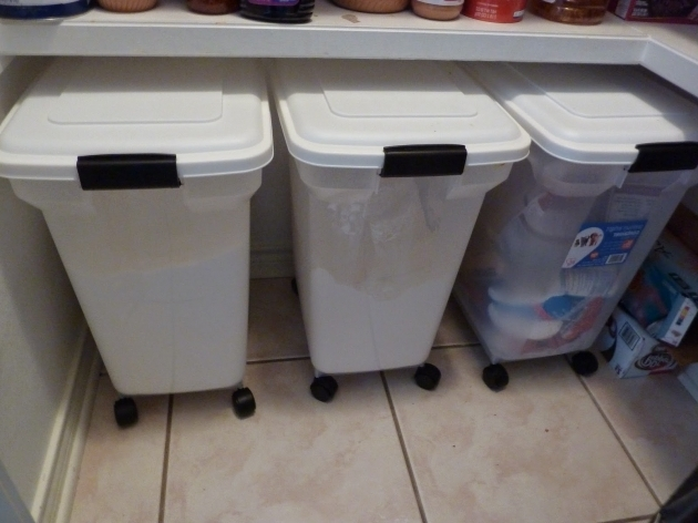 Remarkable See How This Blogger Uses Our Rolling Pet Food Containers For Bulk Bulk Food Storage Containers