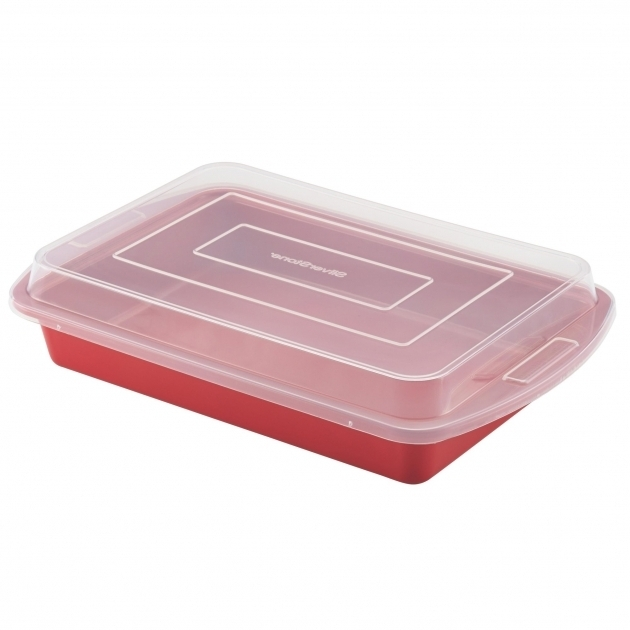 Remarkable Silverstone Nonstick Covered Cake Pan Reviews Wayfair Cake Storage Containers