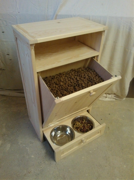 Stunning Pet Food Cabinet Storage Organizer Dog Cat Feeding Station Unit Pet Food Storage Cabinet