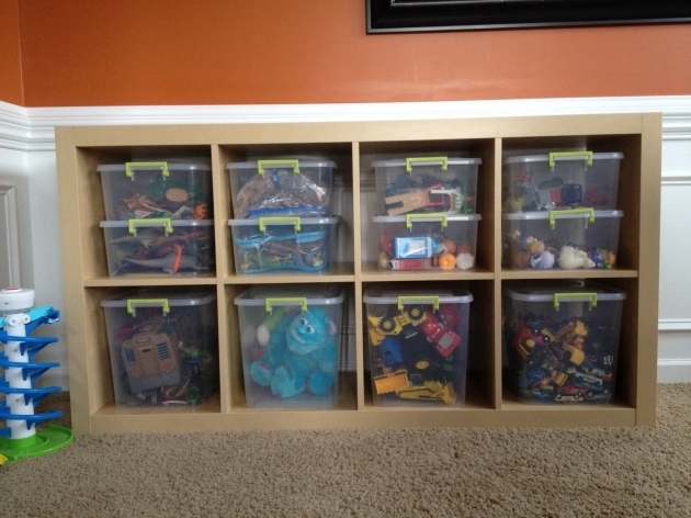 Stunning Playroom Toy Organization Expedit Book Case From Ikea Sterilite Toy Storage Bins Ikea