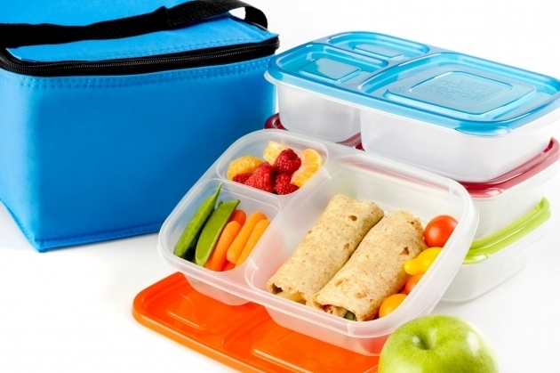 Stylish Put A Little Umbrella In Your Drink Waste Free Lunch Boxes Divided Food Storage Containers