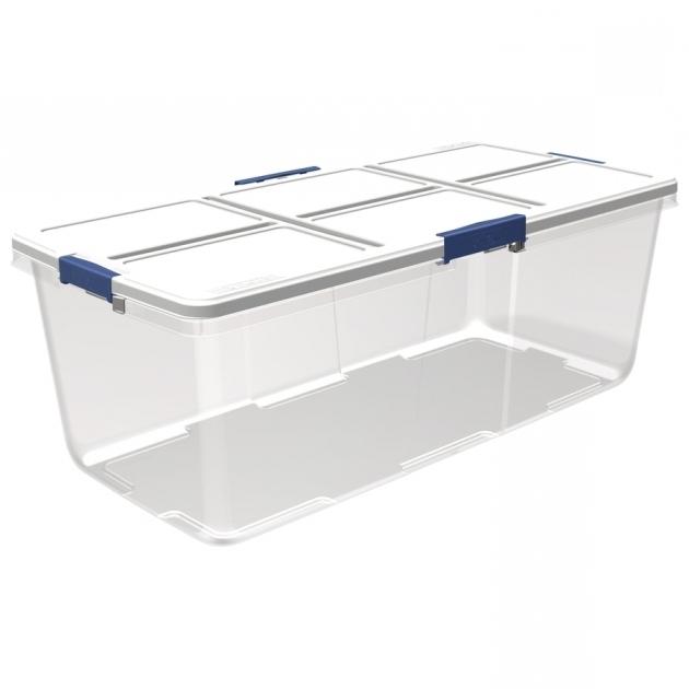 Stylish Shop Plastic Storage Totes At Lowes 100 Gallon Storage Bin
