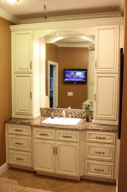 Awesome Best 25 Small Bathroom Cabinets Ideas On Pinterest Bathroom Countertop Storage Cabinets