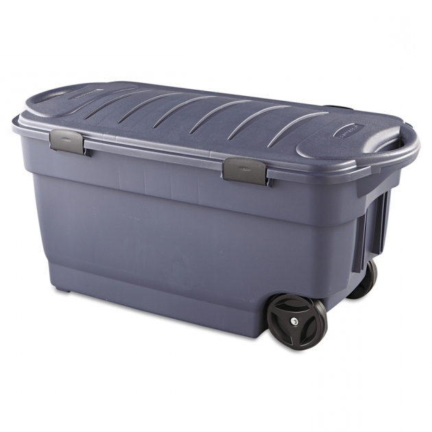 Fascinating Shop Baskets Storage Containers At Lowes Storage Bins With Wheels