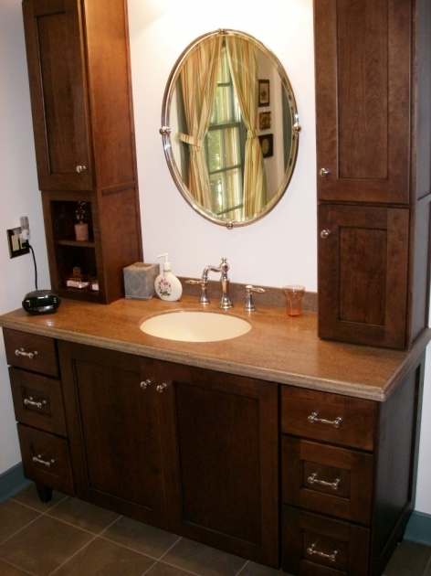Image of Bathroom Countertop Storage Cabinets Kh Design Bathroom Countertop Storage Cabinets