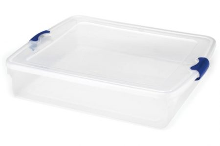 Under Bed Plastic Storage Bins
