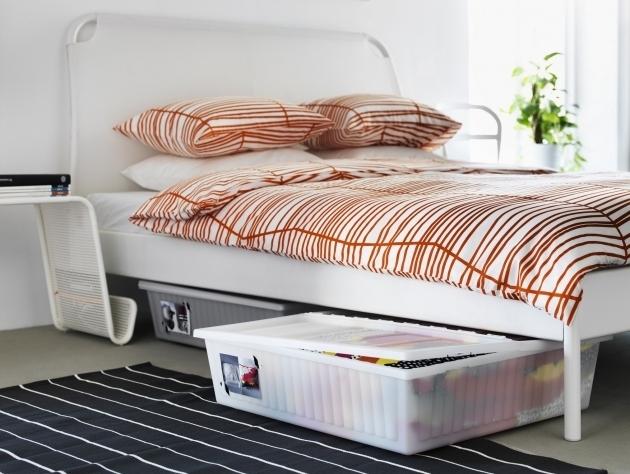 Inspiring Under Bed Storage Full Queen Size Solid Black Wooden Platform Under Bed Plastic Storage Bins